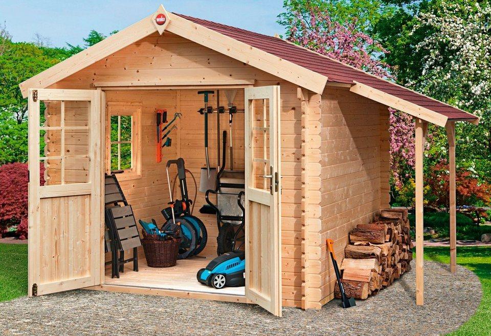 weka set gartenhaus jens gr 1 bxt 316x230 cm inkl schleppdach fu boden und fenster. Black Bedroom Furniture Sets. Home Design Ideas