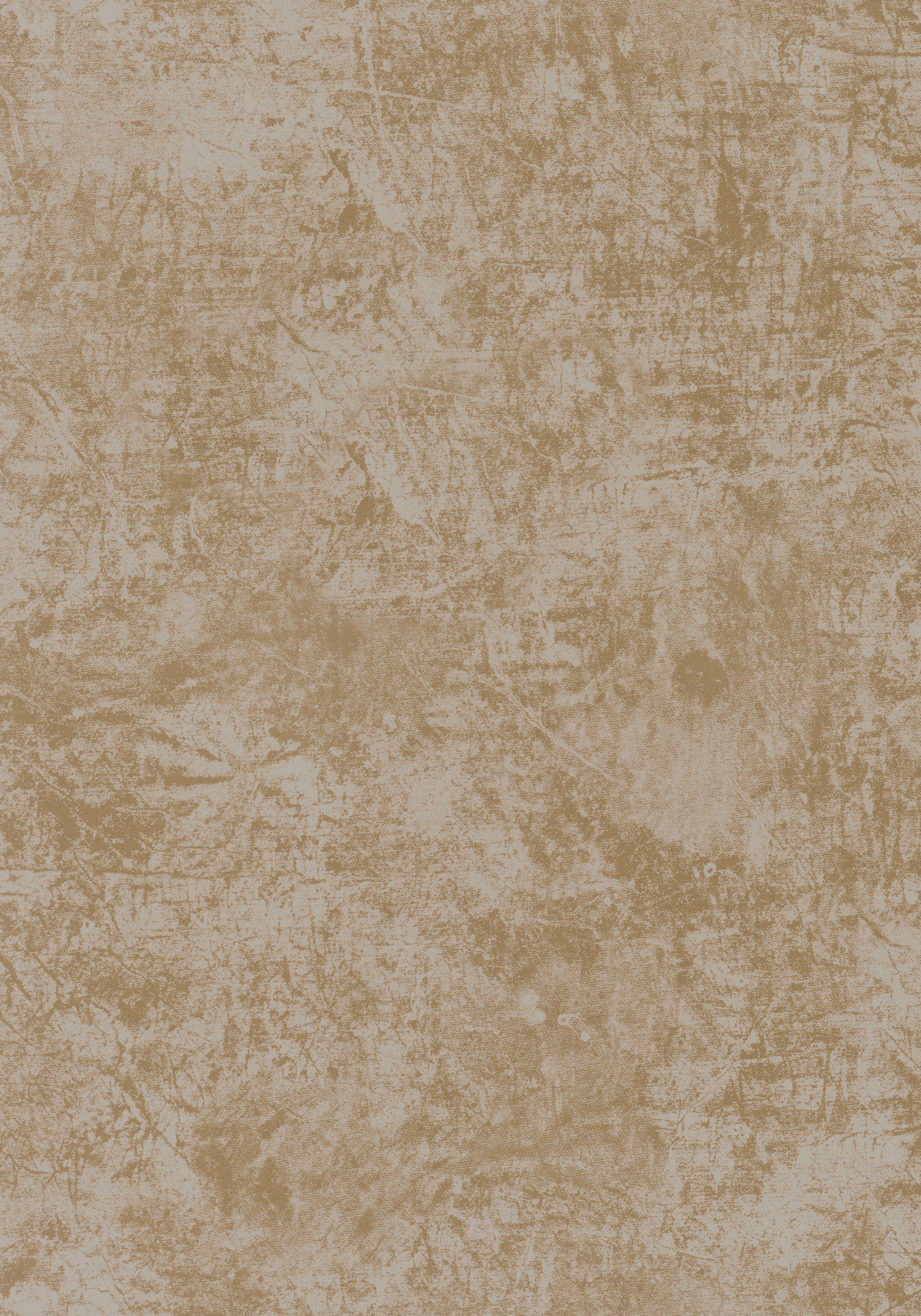 Vliestapete »marmoriert«, gold