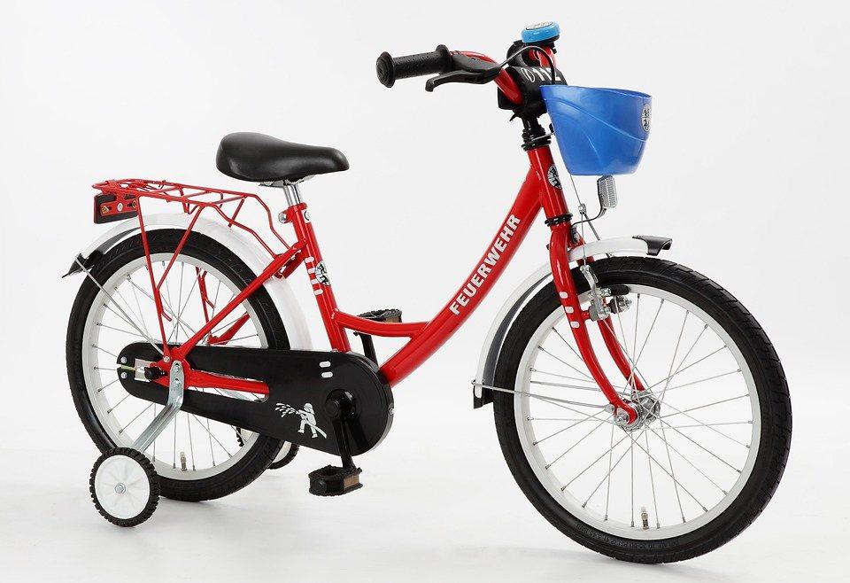 Cycles4Kids Kinderfahrrad »Feuerwehr, 45,72 cm (18 Zoll)« in rot