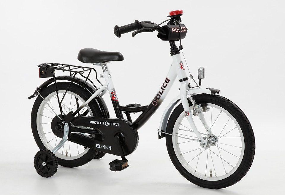Cycles4Kids Kinderfahrrad »Police, 40,64 cm (16 Zoll)«