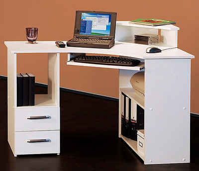 Schreibtisch Aus Kernbuche Online Kaufen Otto