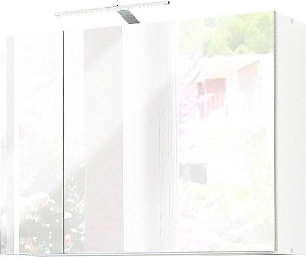 Kesper Spiegelschrank »Nora« mit LED-Beleuchtung in weiß