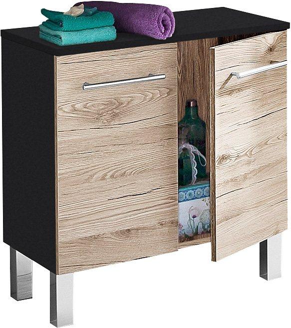 Waschbeckenunterschrank, Kesper, »Nora« kaufen | OTTO | {Waschbeckenunterschrank stehend grau 51}