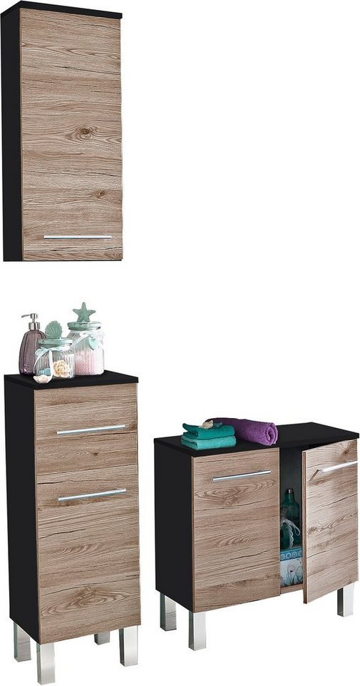badm bel set kesper nora 3 tlg kaufen otto. Black Bedroom Furniture Sets. Home Design Ideas