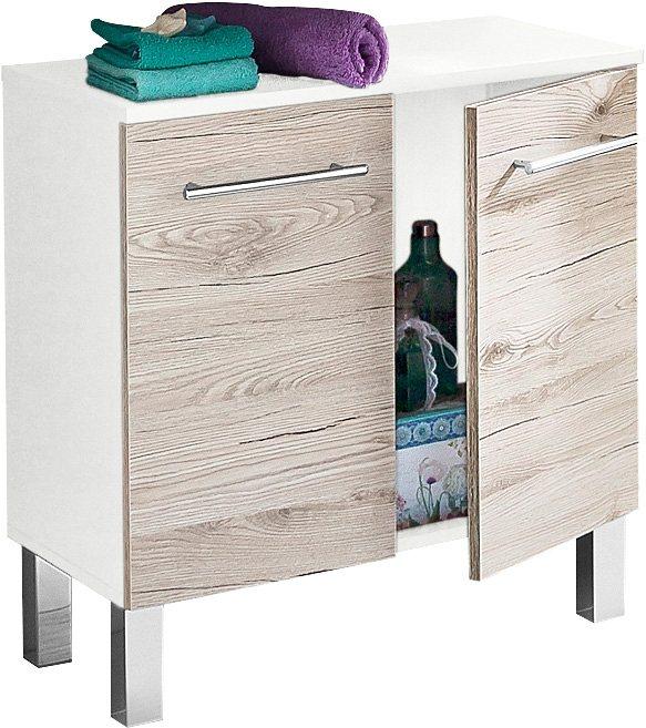 Waschbeckenunterschrank, Kesper, »Nora« kaufen | OTTO | {Waschbeckenunterschrank stehend grau 63}