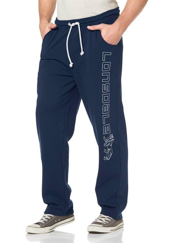 Lonsdale Jogginghose »Jogging Pants STONEFIELD« in dunkelblau