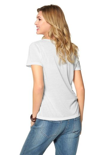 Cheer T-Shirt, mit Statement-Frontdruck