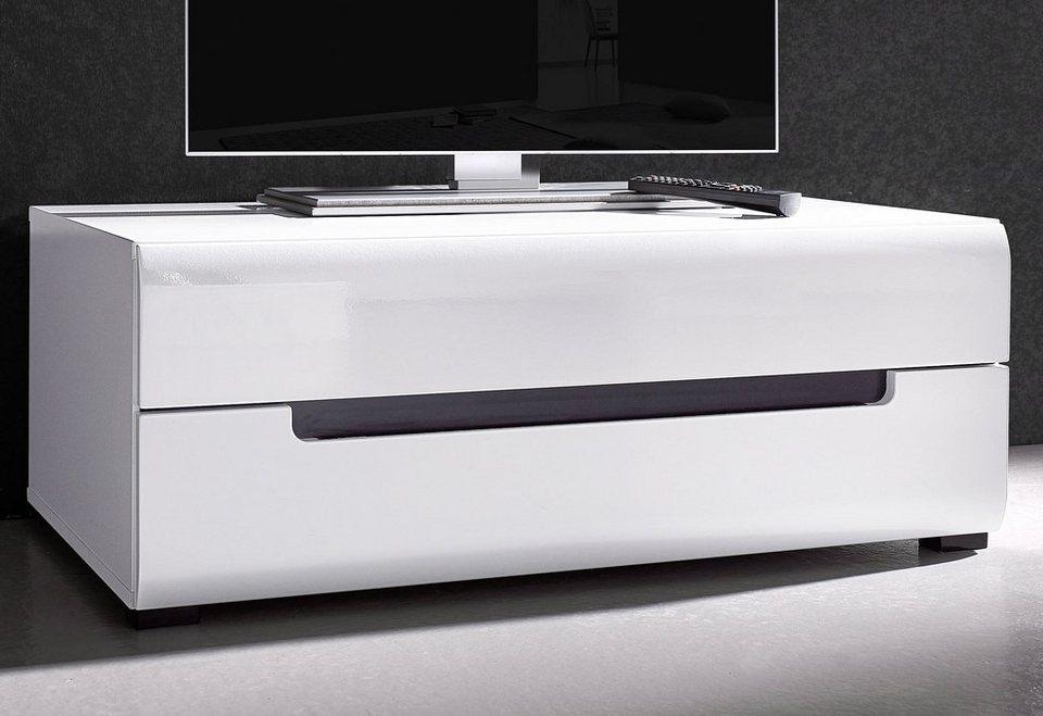 Lowboard, Breite 90 cm in weiß