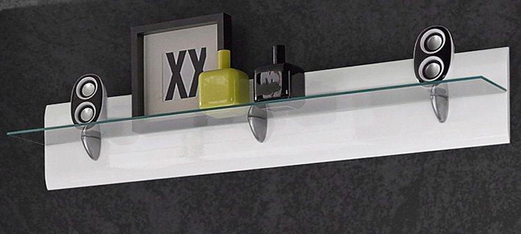 Wandboard, Breite 120 cm in weiß