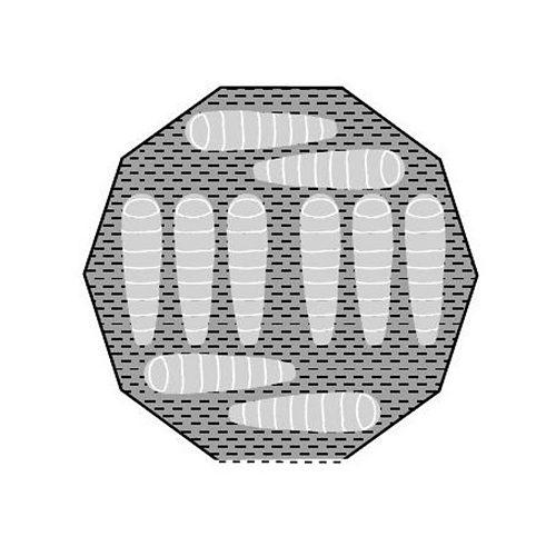 Robens Zelt (Zubehör) »Mescalero Zeltteppich«