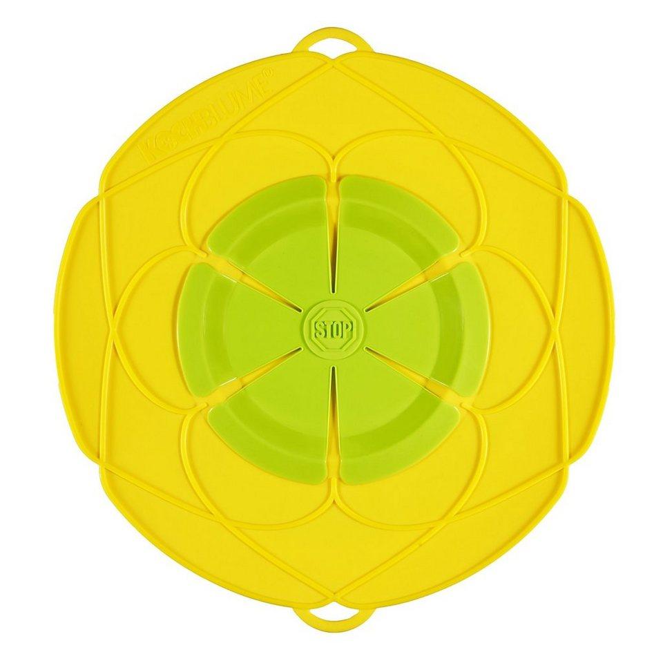 Kochblume Kochblume Überkochschutz gelb 29 cm in gelb
