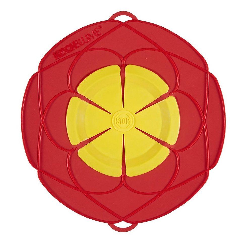 Kochblume Kochblume Überkochschutz rot 25.5 cm in rot