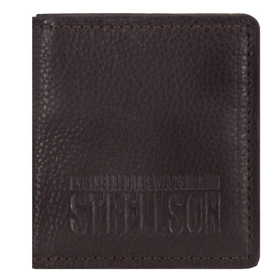 Strellson London Bridge Geldbörse Leder 9,5 cm in brown