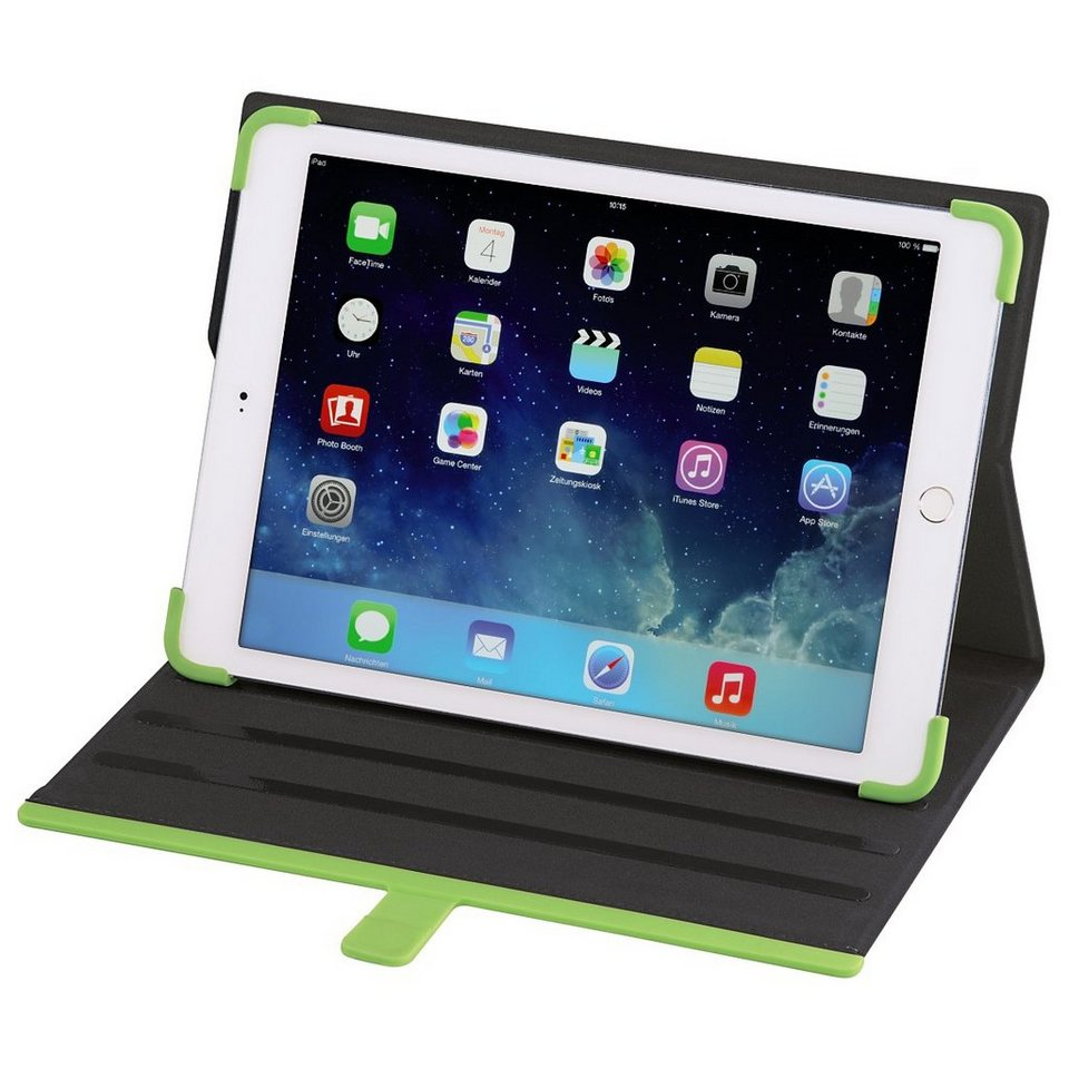 Hama Portfolio Rubber für Apple iPad Air 2, Blau in Blau