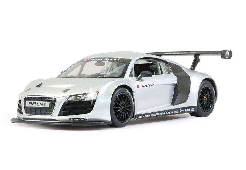 JAMARA RC Fahrzeug, »Audi R8 LMS - 40 MHz weiß« in silberfarben