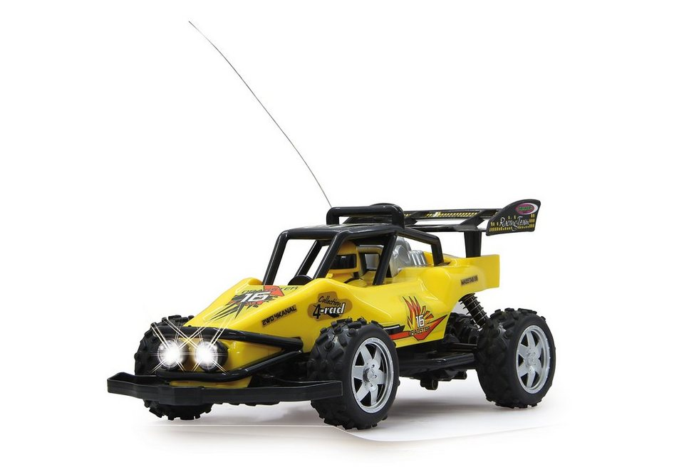 JAMARA RC Fahrzeug, »Dragster 16 - 27 MHz« in gelb
