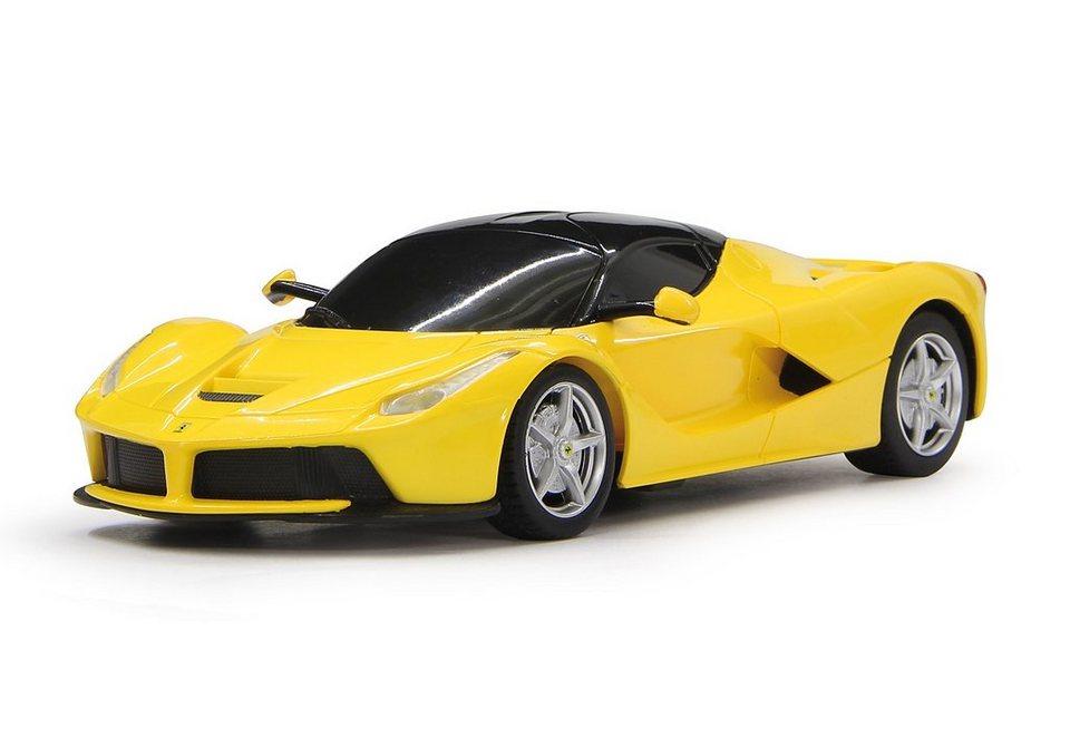 JAMARA RC Fahrzeug, »Ferrari LaFerrari - 27 MHz gelb« in gelb