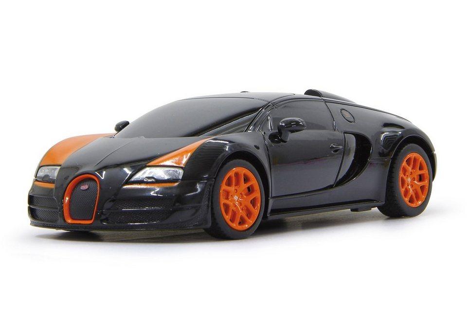 JAMARA RC Fahrzeug, »Bugatti Grand Sport Vitesse - 40 MHz schwarz« in schwarz