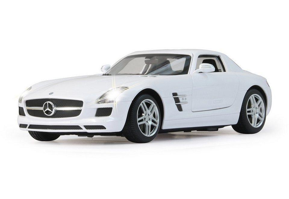 JAMARA RC Fahrzeug, »Mercedes SLS - 27 MHz weiß« in weiß