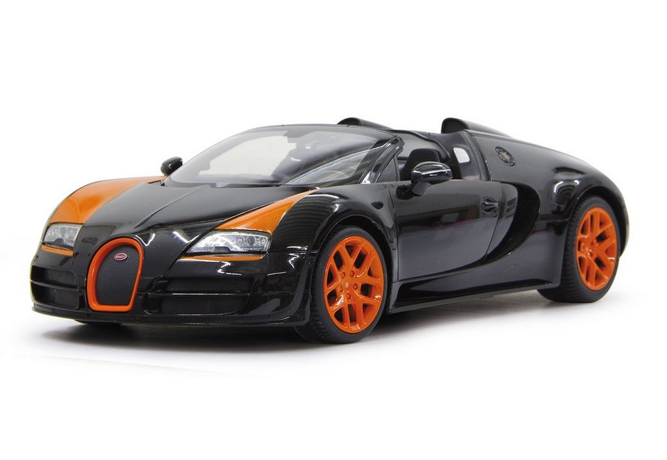 JAMARA RC Fahrzeug, »Bugatti Grand Sport Vitesse - 2,4 GHz schwarz« in schwarz