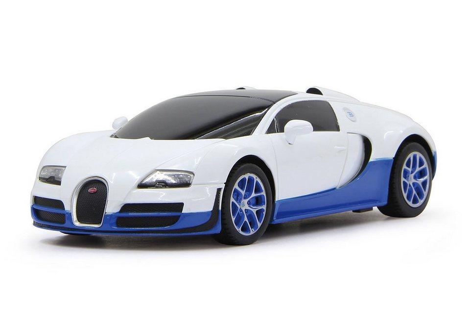 JAMARA RC Fahrzeug, »Bugatti Grand Sport Vitesse - 27 MHz weiß« in weiß