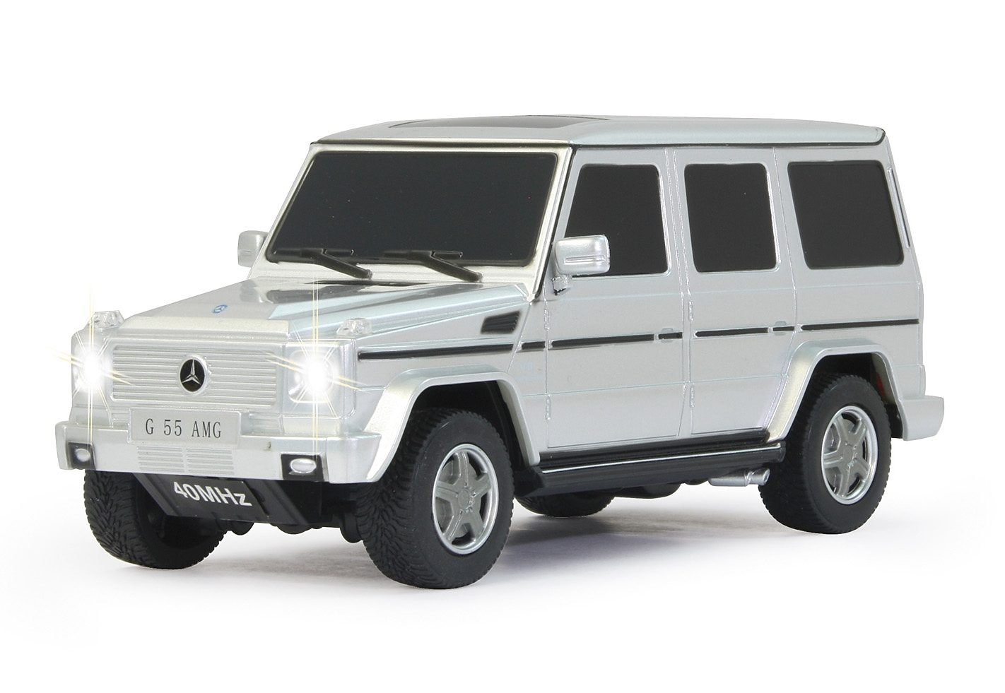 JAMARA RC Fahrzeug, »Mercedes G55 AMG - 40 MHz weiß«