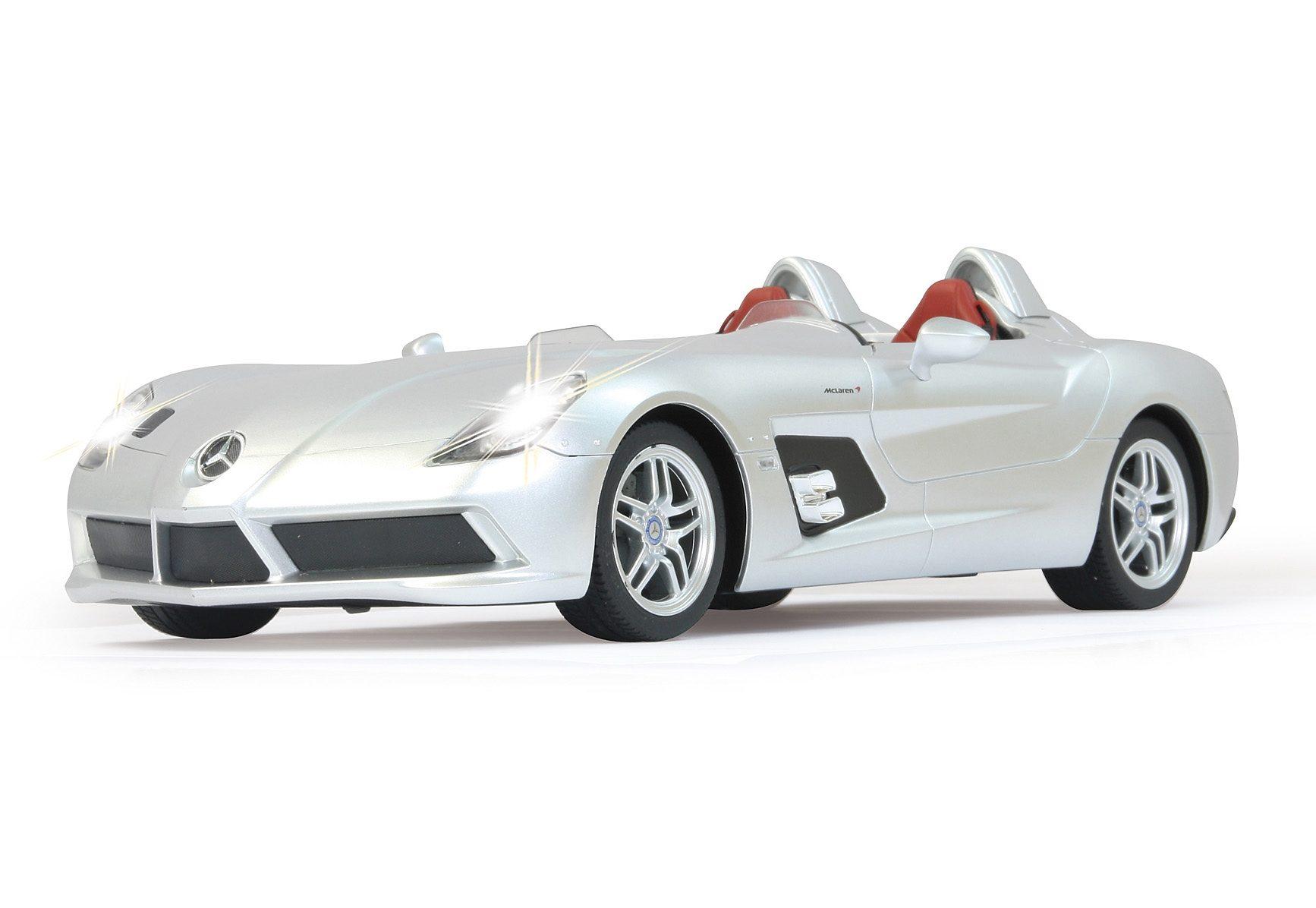 JAMARA RC Fahrzeug, »Mercedes-Benz SLR McLaren - 27 MHz silberfarben«
