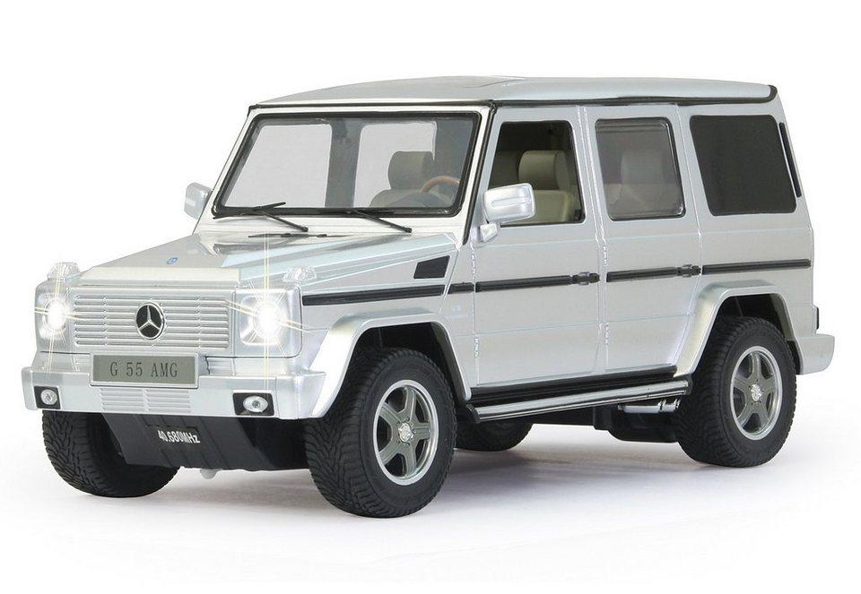 JAMARA RC Fahrzeug, »Mercedes G55 AMG - 40 MHz weiß« in silberfarben