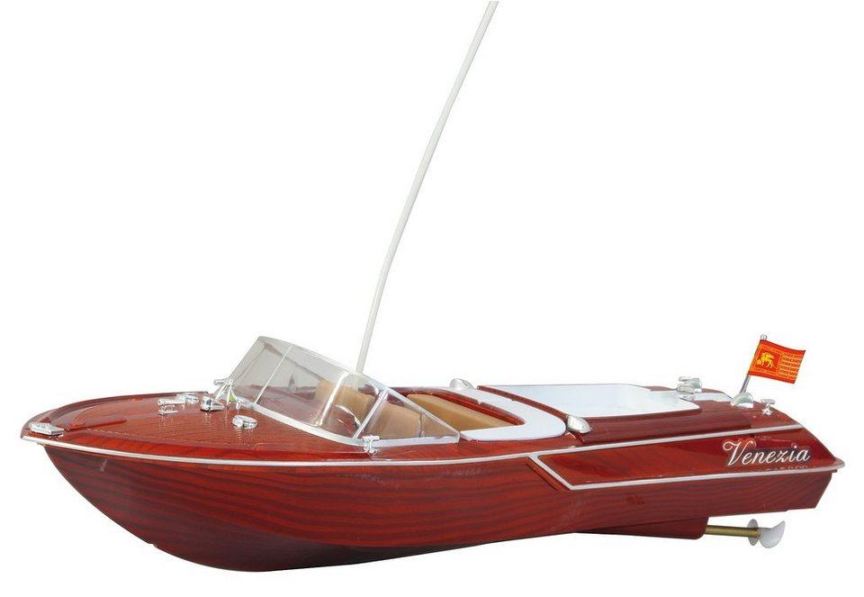 JAMARA RC Motor Yacht, »Venezia« in braun