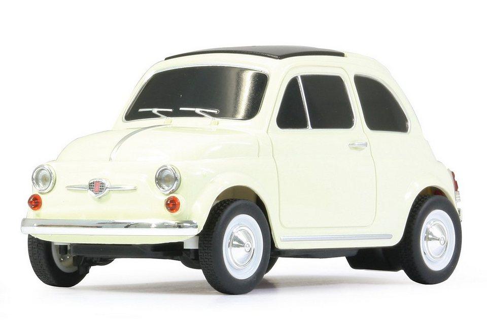 JAMARA RC Fahrzeug, »Fiat 500L - 27 MHz weiß« in weiß