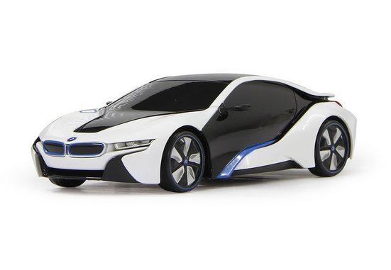 Jamara RC-Auto »BMW i8 - 27 MHz weiß«