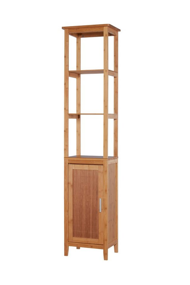 Hochschrank »Bambus«, Breite 42 cm in bambusfarben