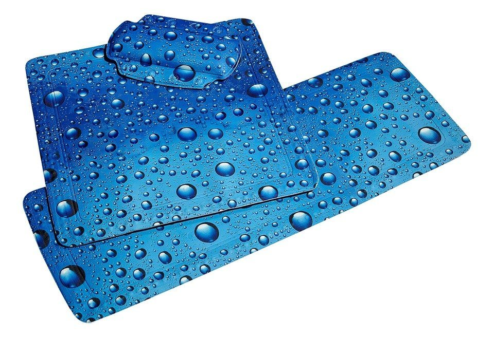 Nackenpolster »Bubble« in blau