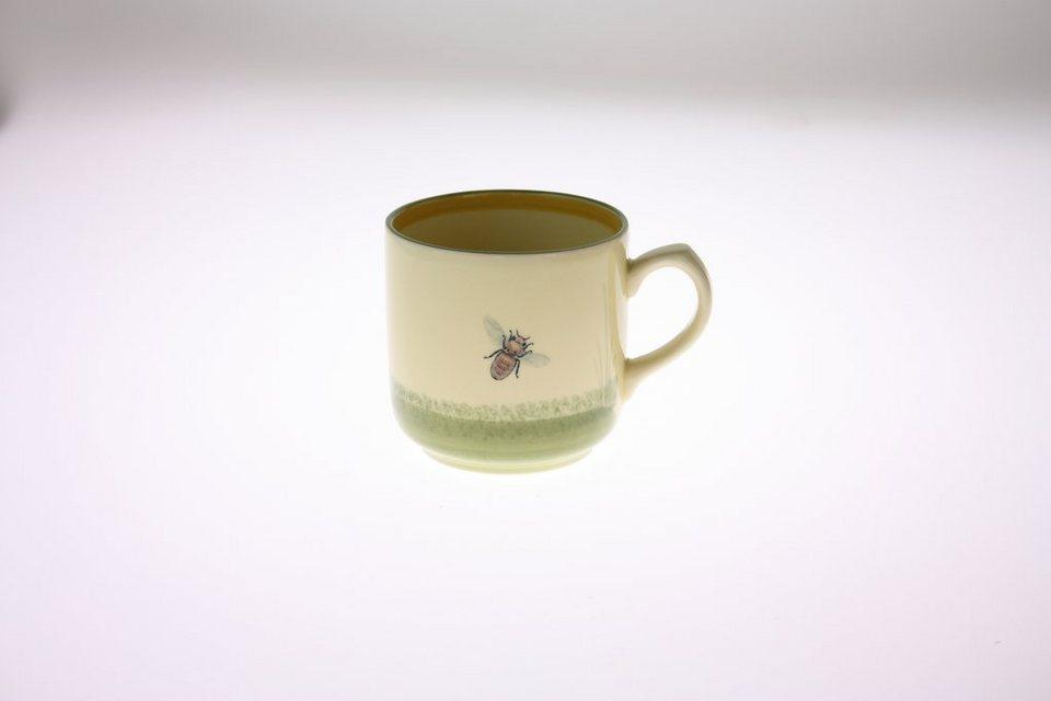 Zeller Keramik Kaffeebecher »Biene« in Mehrfarbig