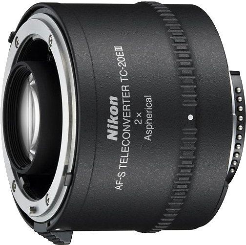 Nikon TC-20E III AF-Sr Telekonverter in schwarz