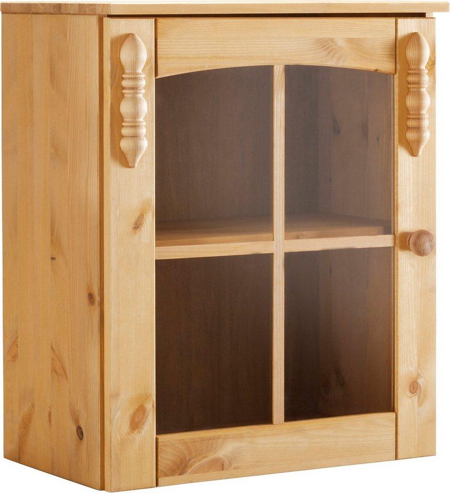 h ngevitrine sylt mit 1 glast r online kaufen otto. Black Bedroom Furniture Sets. Home Design Ideas