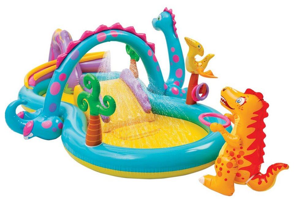 intex®, Kinder Pool und Spielcenter, »Dinoland« in bunt