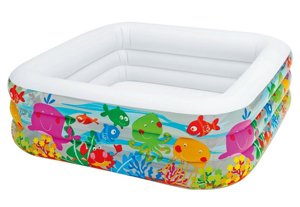 Intex kinder pool clearview aquarium kaufen otto - Viereckiger pool ...