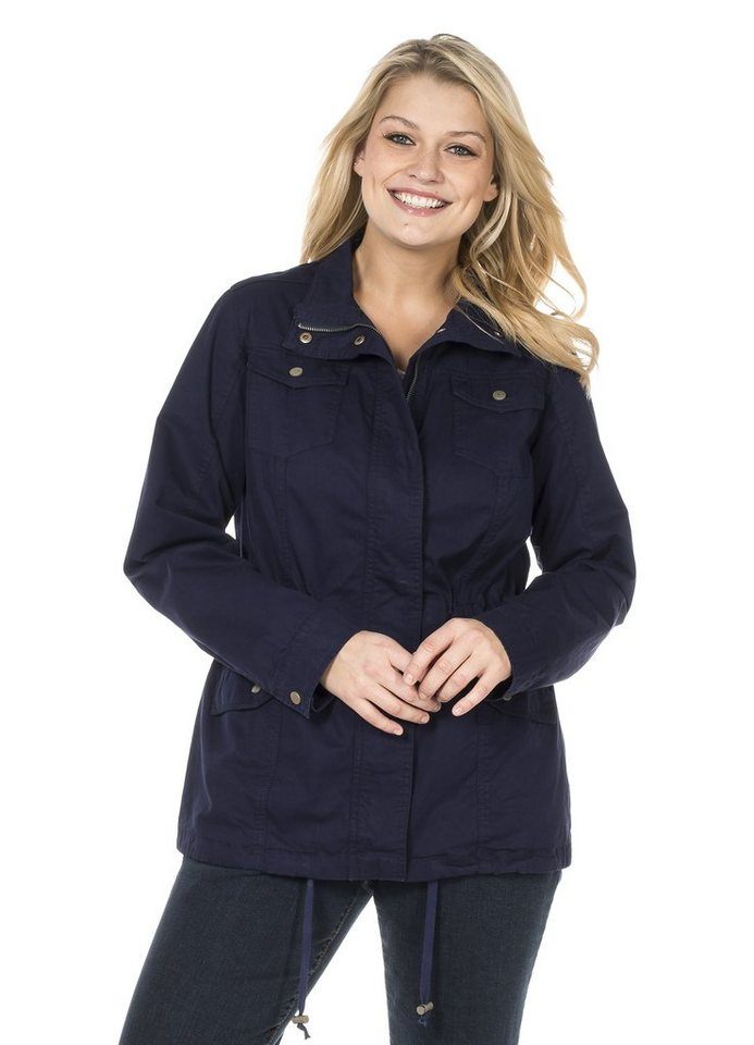 sheego Casual Jacke in marine