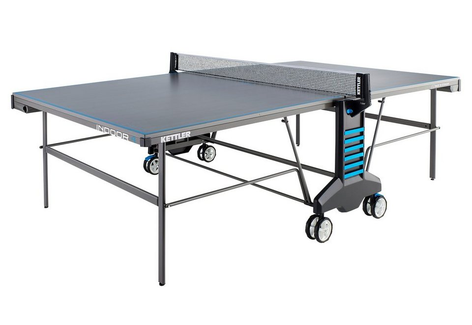 Tischtennisplatte, »Indoor 4«, Kettler in grau-blau
