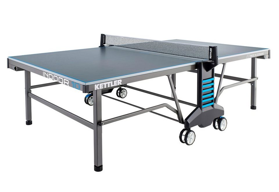 Tischtennisplatte, »Indoor 10«, Kettler in grau-blau