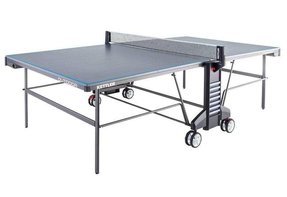 Tischtennisplatte, »Outdoor 4«, Kettler in grau-blau