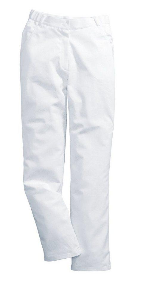 Damen-Stretchhose in weiß