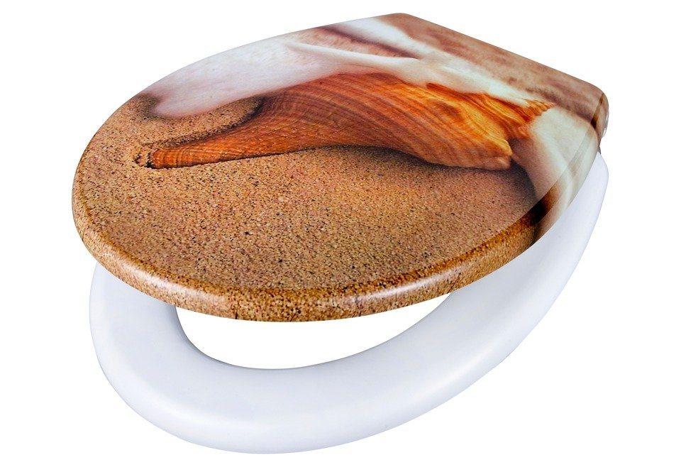 WC-Sitz »Strand«, Mit Absenkautomatik in beige