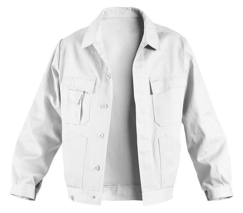 Arbeitsjacke »Quality-Dress« in weiß
