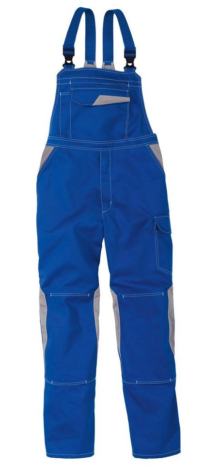 Kübler Latzhose »Image Dress« in blau/grau