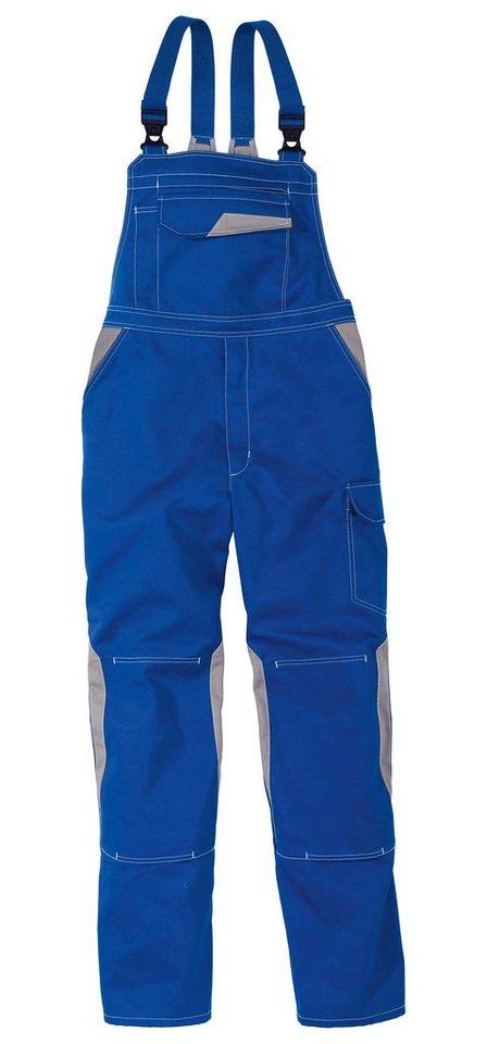 Latzhose »Image Dress« in blau/grau