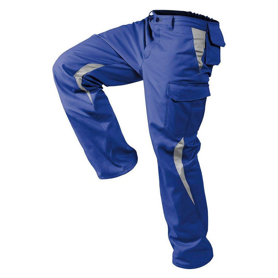 Kübler Arbeitshose »Image Dress« in blau/grau