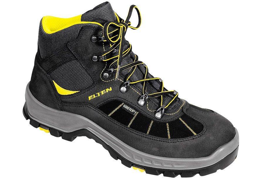 Sicherheitsstiefel »Hill GTX Mid« in gelb/schwarz