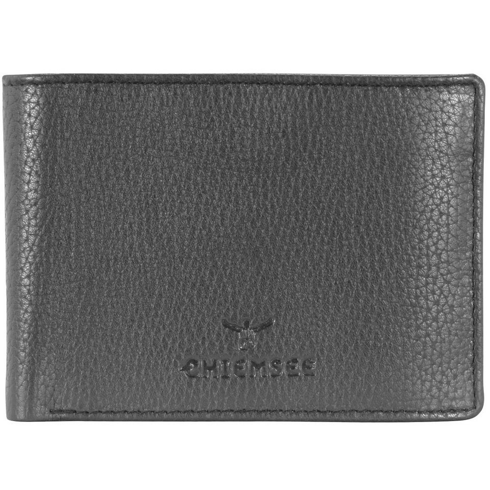 Chiemsee Little Geldbörse Leder 10,5 cm in dark grey